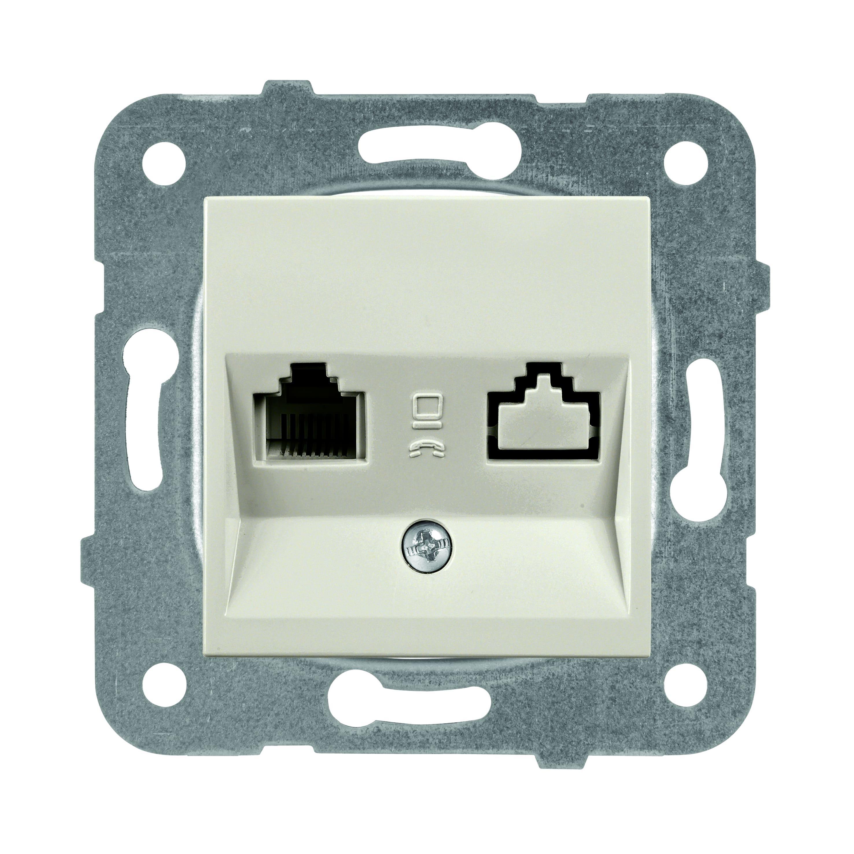Механизм розетки Panasonic Wktt0402-2br-res karre plus