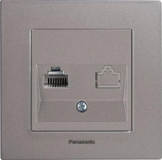 Механизм розетки Panasonic Wktt0402-2dg-res karre plus