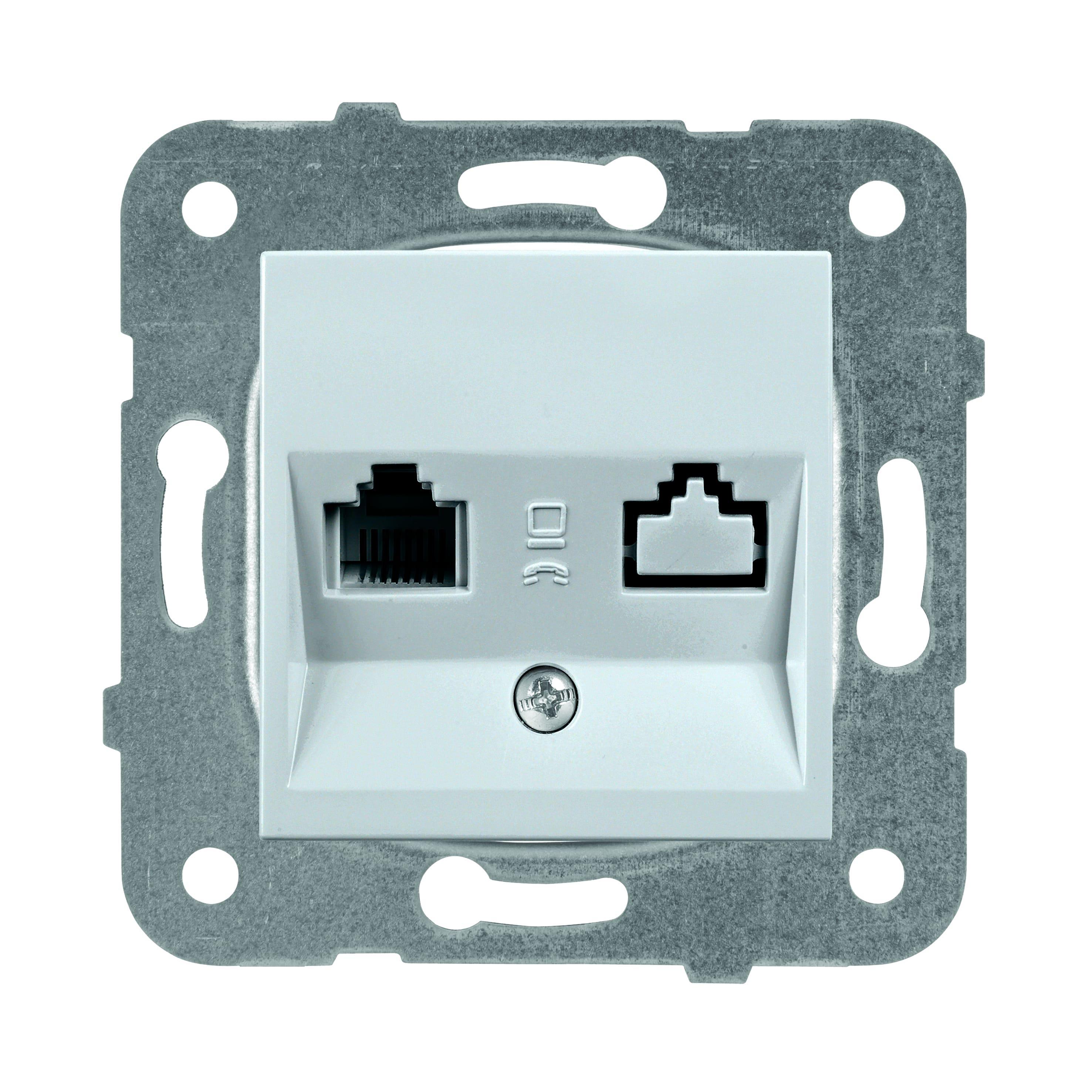 Механизм розетки Panasonic Wktt0402-2sl-res karre plus разветвитель 2 гнезда с з 16а 2т2