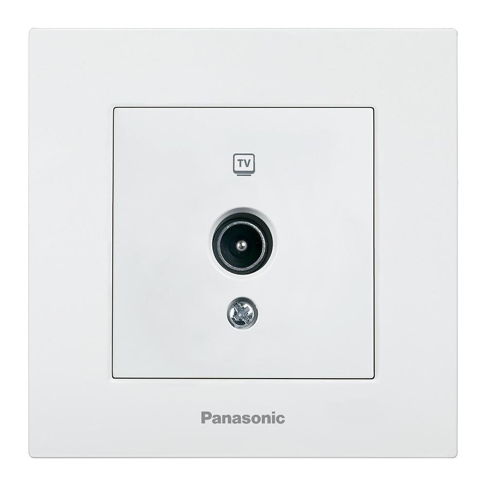 Механизм розетки Panasonic Wktt0452-2wh-res karre plus