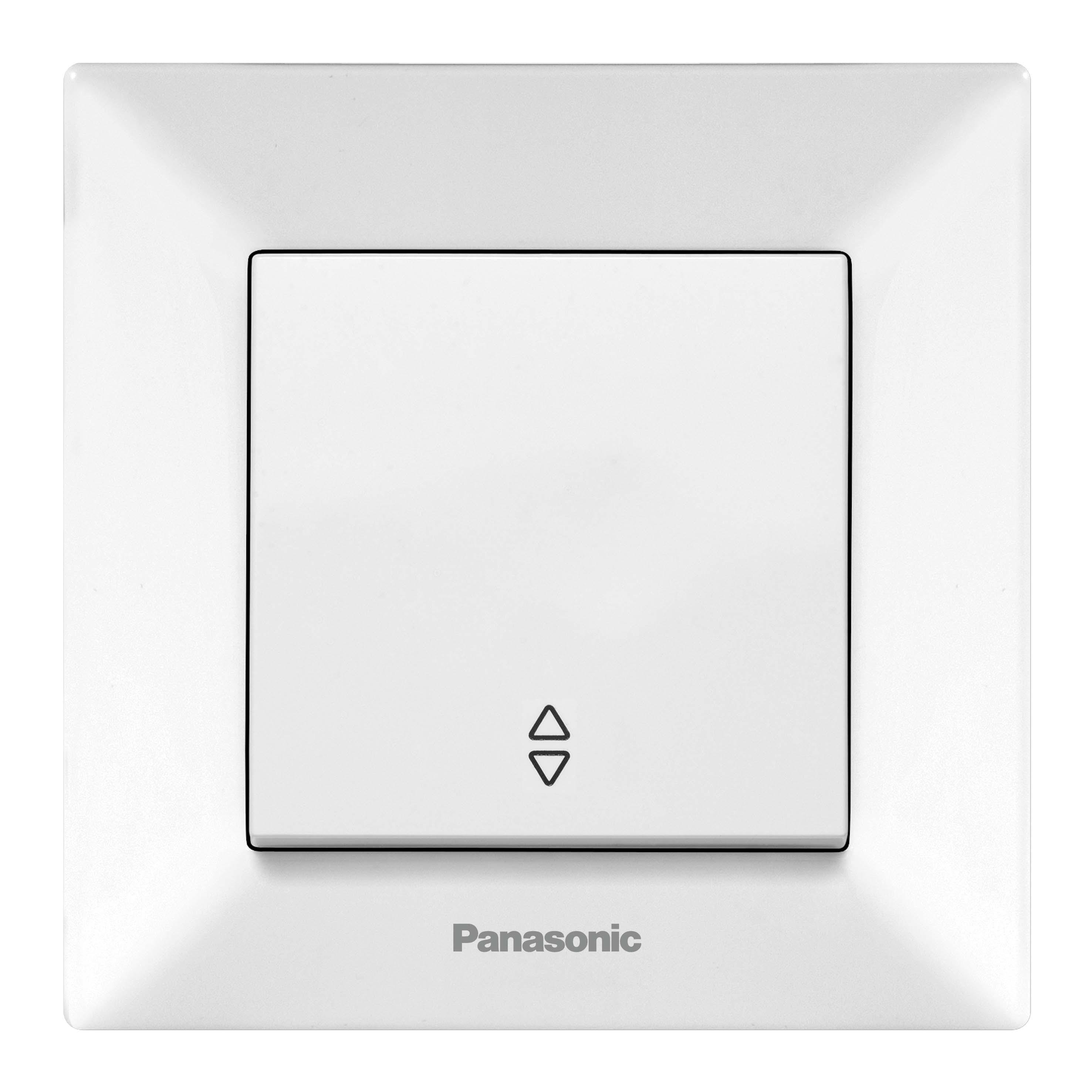 Переключатель Panasonic Wmtc0003-2wh-res arkedia