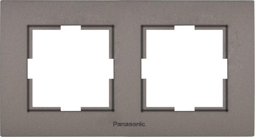 Рамка Panasonic Wktf0801-2br-res karre plus стоимость