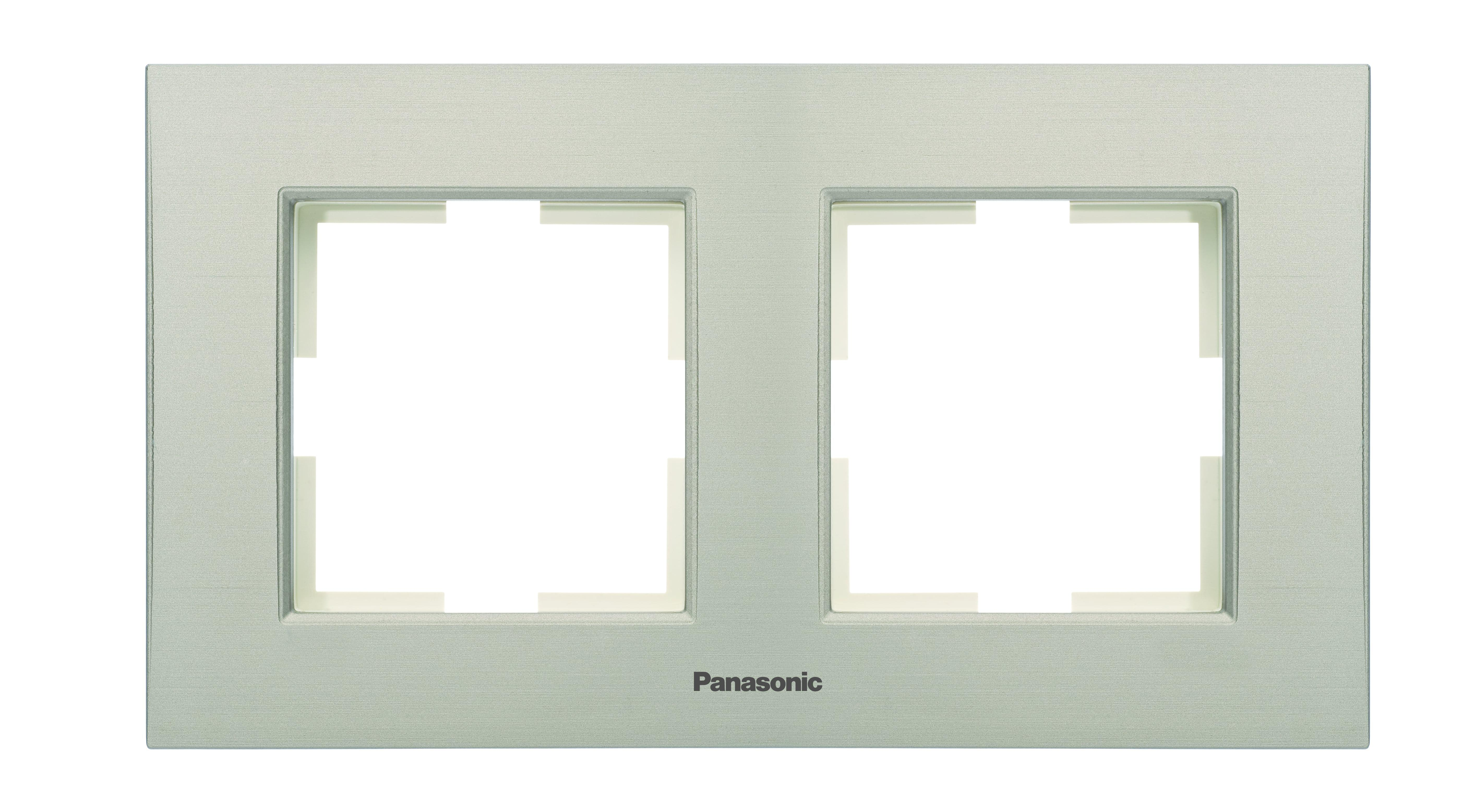 Рамка Panasonic Wktf0801-2dg-res karre plus dg рамка для фото jardo