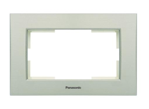 Рамка PANASONIC WKTF0805-2SL-RES Karre Plus