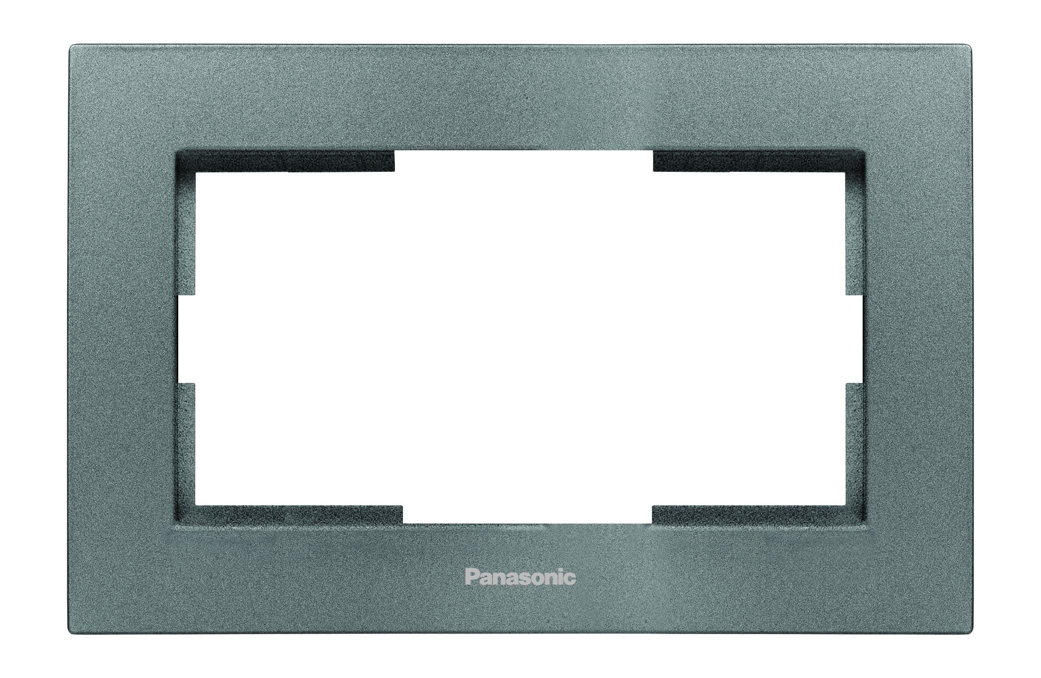 Рамка Panasonic Wktf0806-2wh-res karre plus