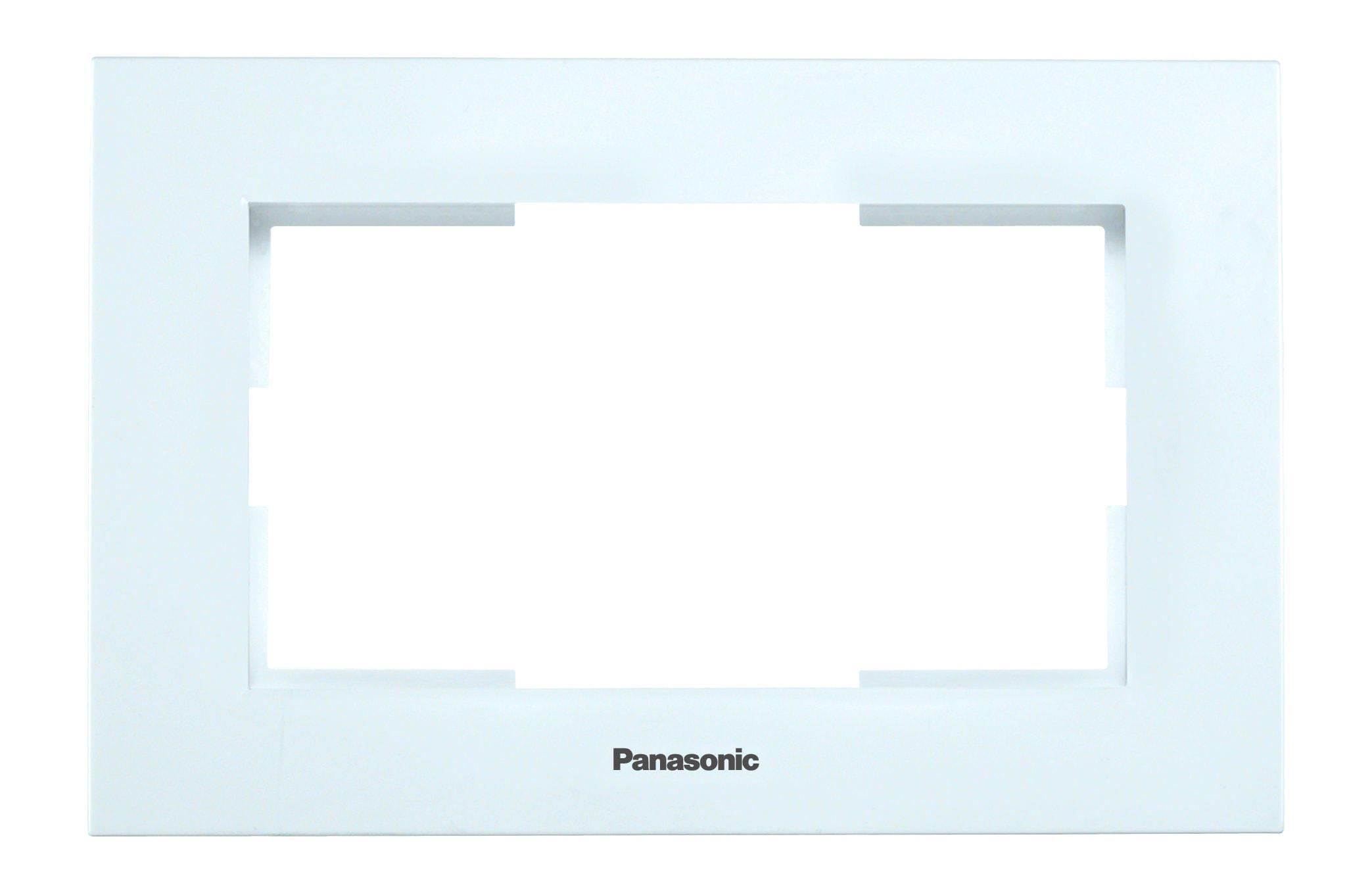 Рамка Panasonic Wmtf0806-2wh-res karre plus