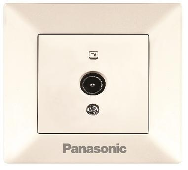 Розетка Panasonic Wktf0809-2bg-res arkedia