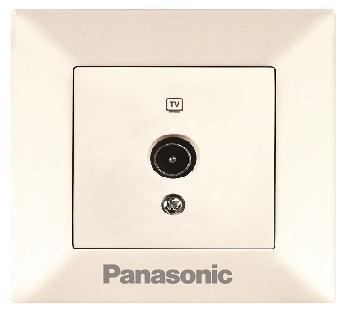 Розетка Panasonic Wktf0809-2dg-res arkedia
