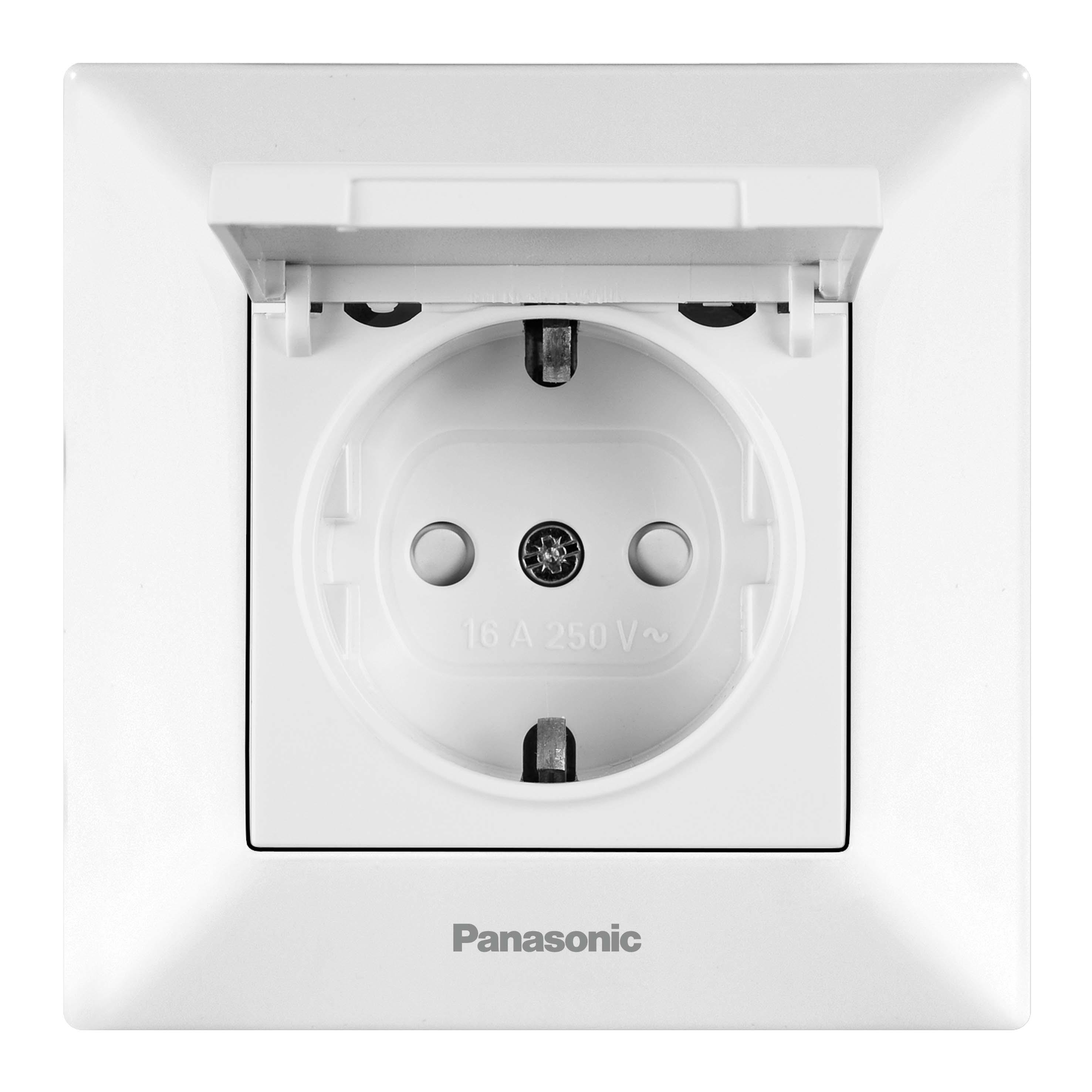 Розетка Panasonic Wmtc0451-2wh-res arkedia