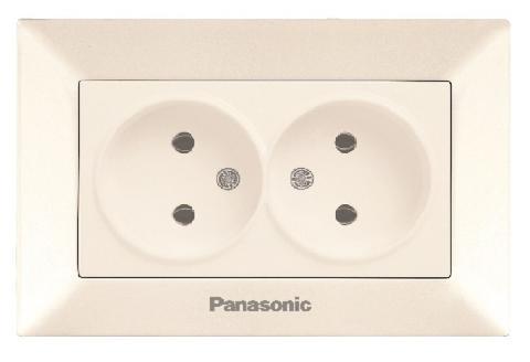 Розетка Panasonic Wmtf0806-2bg-res arkedia