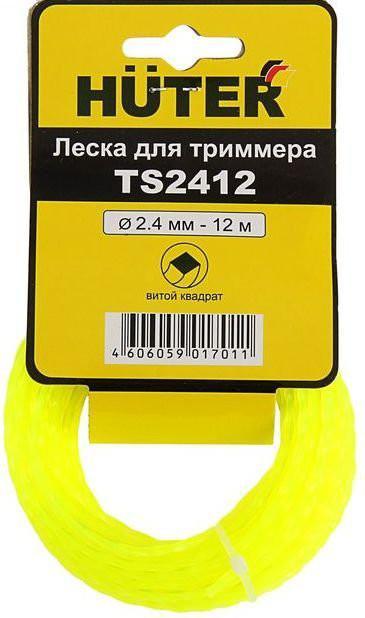 купить Леска для триммеров Huter Ts2412 дешево