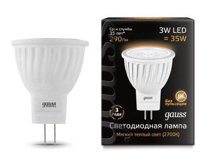 Лампа светодиодная Gauss набор 9+1 в подарок 132517103 лампа светодиодная gauss 132517103