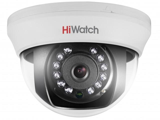 Камера видеонаблюдения Hiwatch Ds-t101 (3.6 mm) аналоговая камера hiwatch ds t101 2 8mm