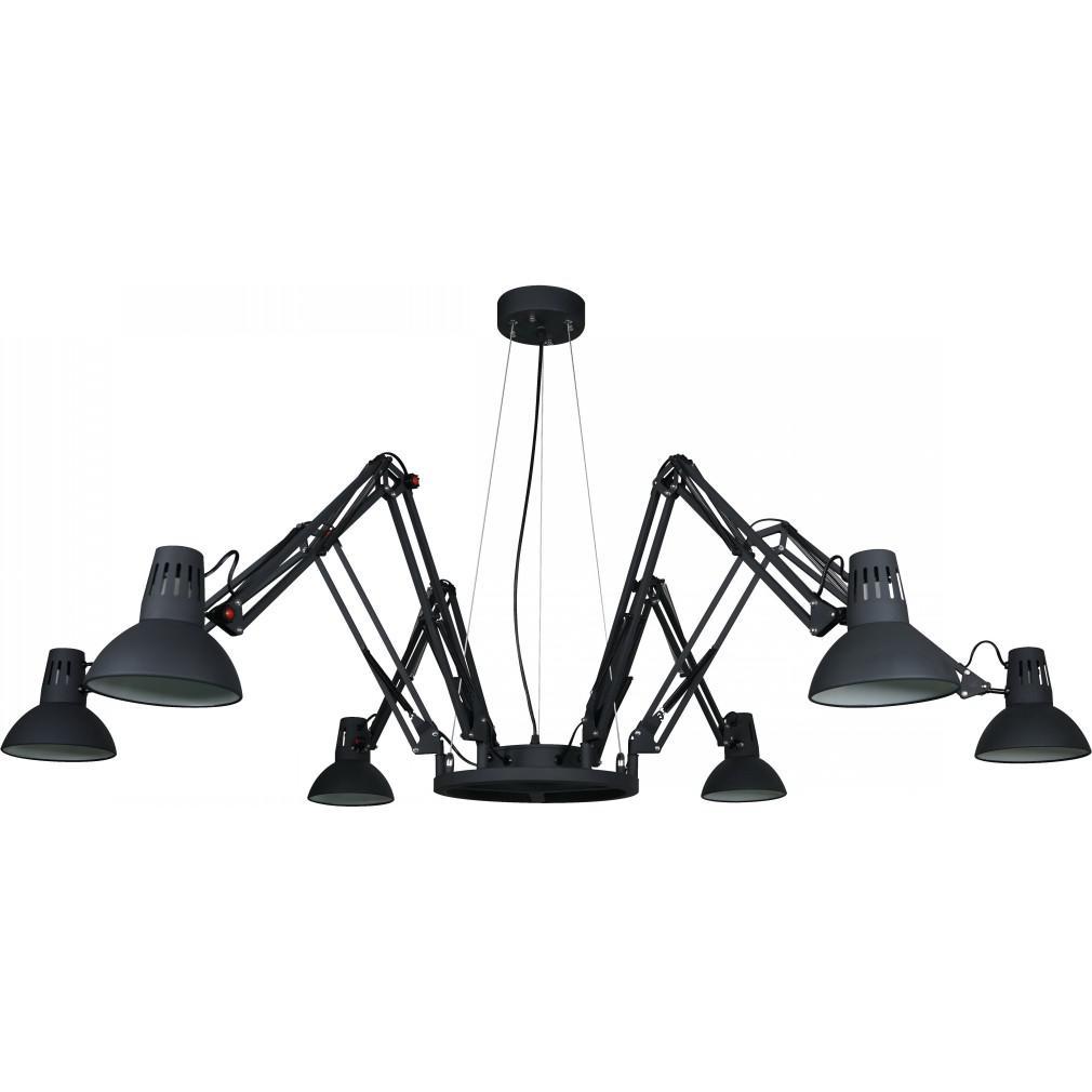 Светильник подвесной Arte lamp A2043sp-6bk acv sp a 6