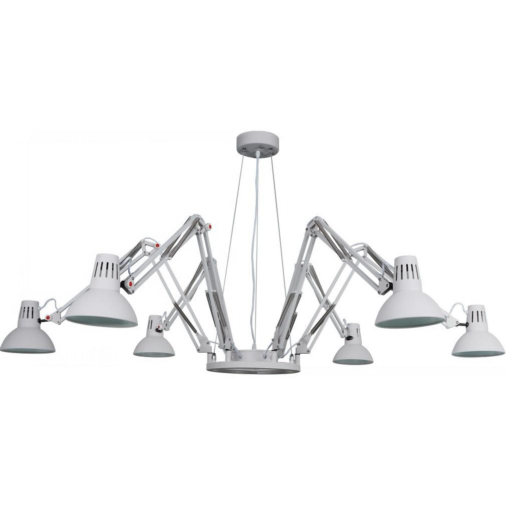 Светильник подвесной Arte lamp A2043sp-6wh светильник подвесной arte lamp passero 6 х e27 40 w a4289lm 6wh