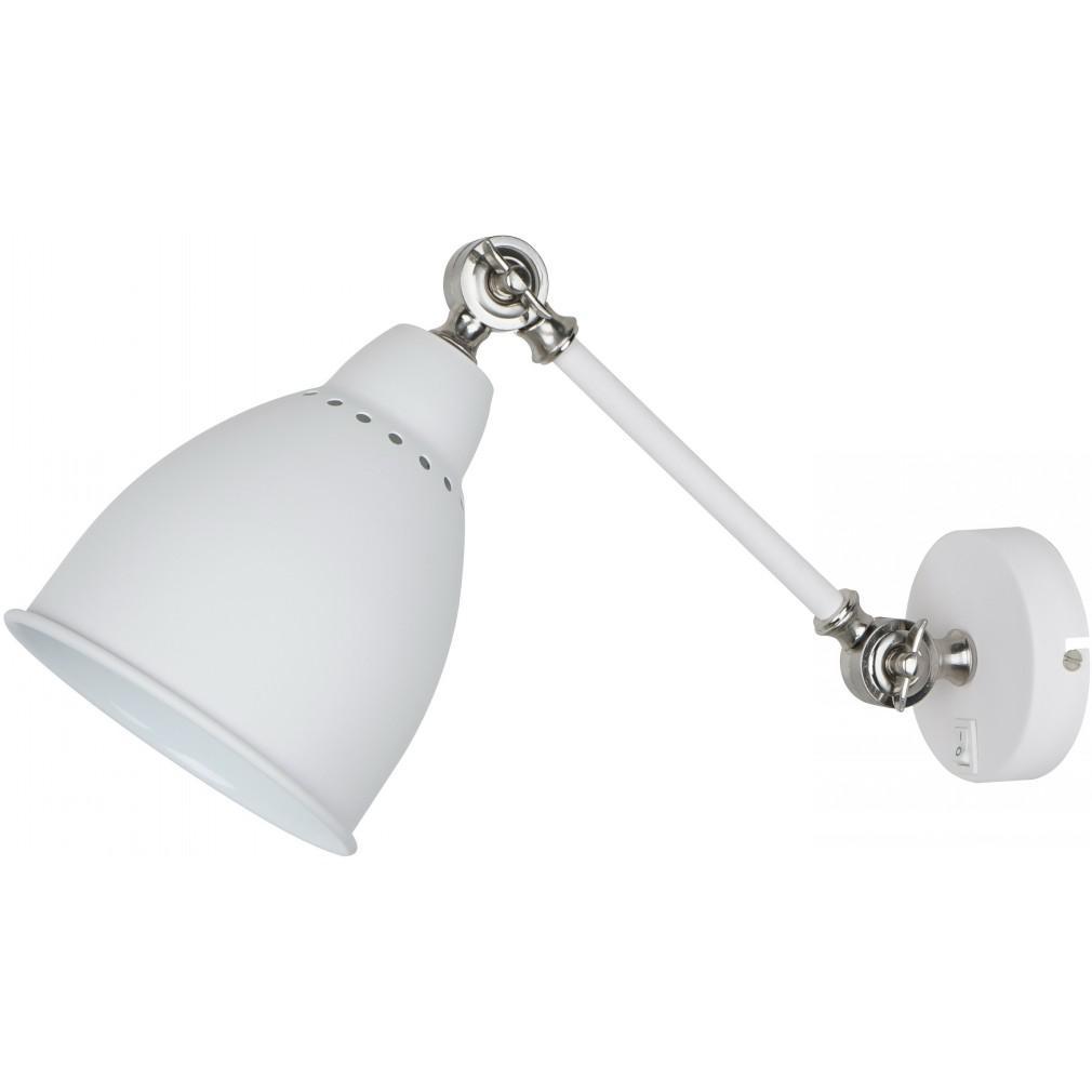 Светильник настенный Arte lamp A2054ap-1wh встраиваемый светильник arte lamp cielo a7314pl 1wh