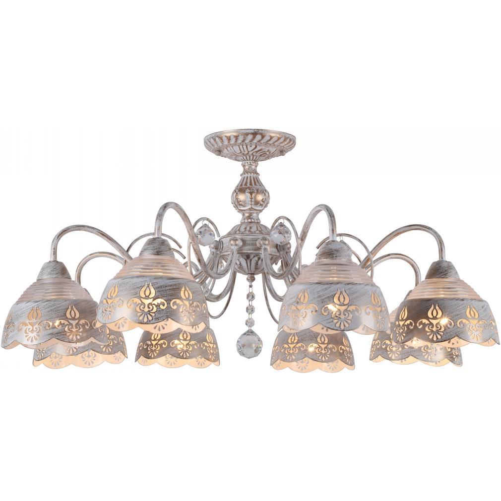 Светильник потолочный Arte lamp A9106pl-8wg люстра на штанге arte lamp sicilia a9106pl 8wg