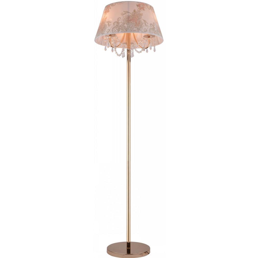 Торшер Arte lamp A5008pn-3go
