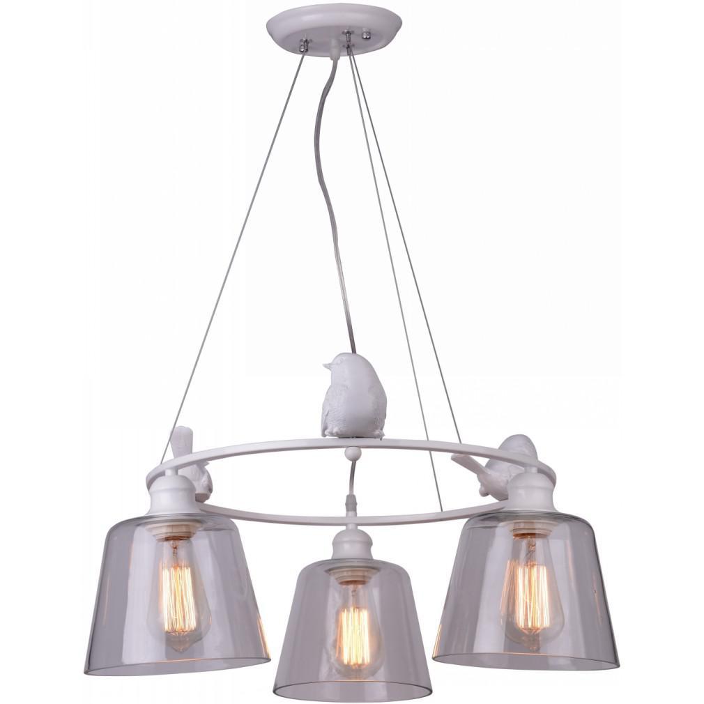 Светильник подвесной Arte lamp A4289lm-3wh светильник подвесной arte lamp passero 6 х e27 40 w a4289lm 6wh