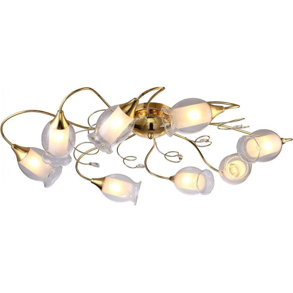 Светильник потолочный Arte lamp A9289pl-8go люстра arte lamp sparkles a3054lm 8go