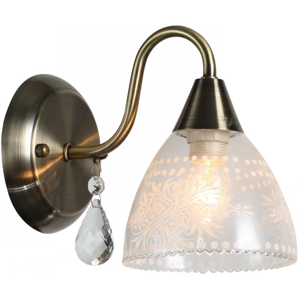 Светильник настенный Arte lamp A1658ap-1ab настенный светильник arte lamp interior a7107ap 1ab