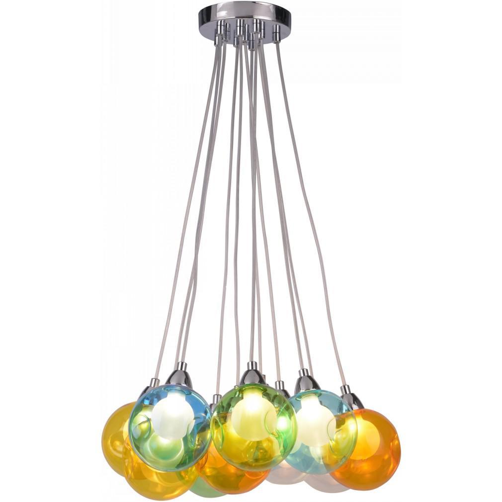 Светильник подвесной Arte lamp A3026sp-11cc накладной светильник arte lamp halo a7054pl 11cc