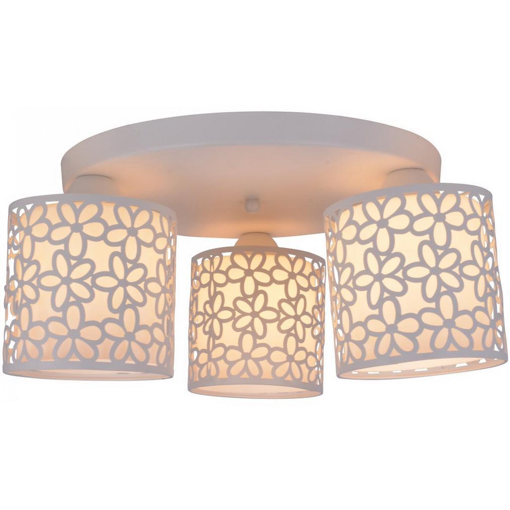 Светильник потолочный Arte lamp A8349pl-3wh потолочный светильник shirp a3211pl 3wh arte lamp 1182062
