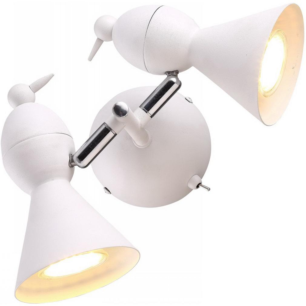 Светильник настенный Arte lamp A9229ap-2wh  - Купить