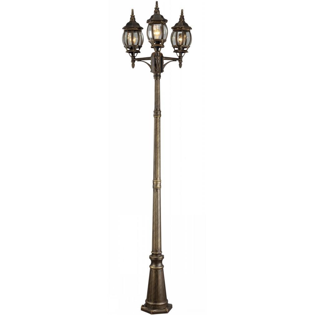 все цены на Светильник уличный Arte lamp A1047pa-3bn