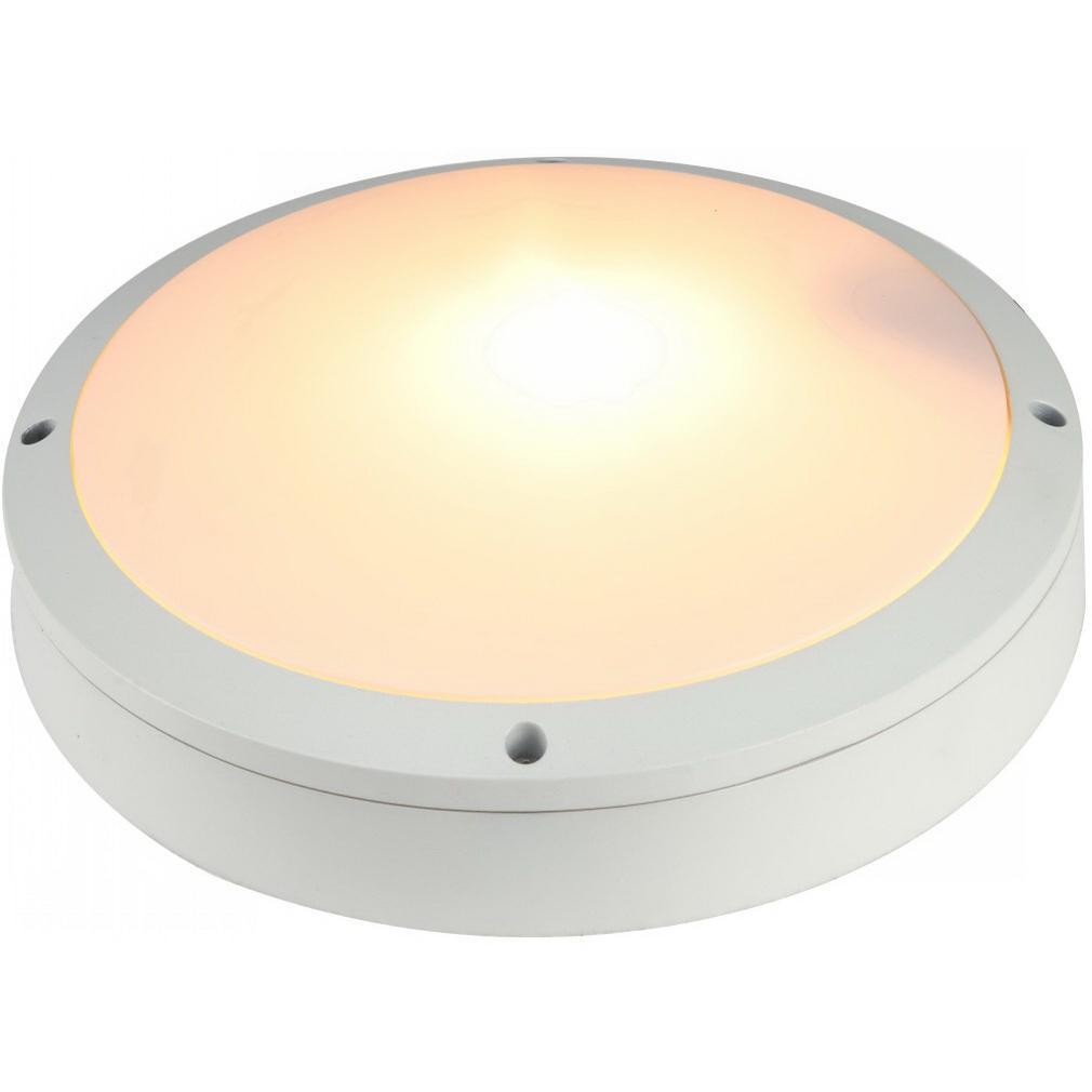 Светильник уличный Arte lamp A8154pf-2wh leflash датчик движения ик настенный 120° потолочный 360° белый