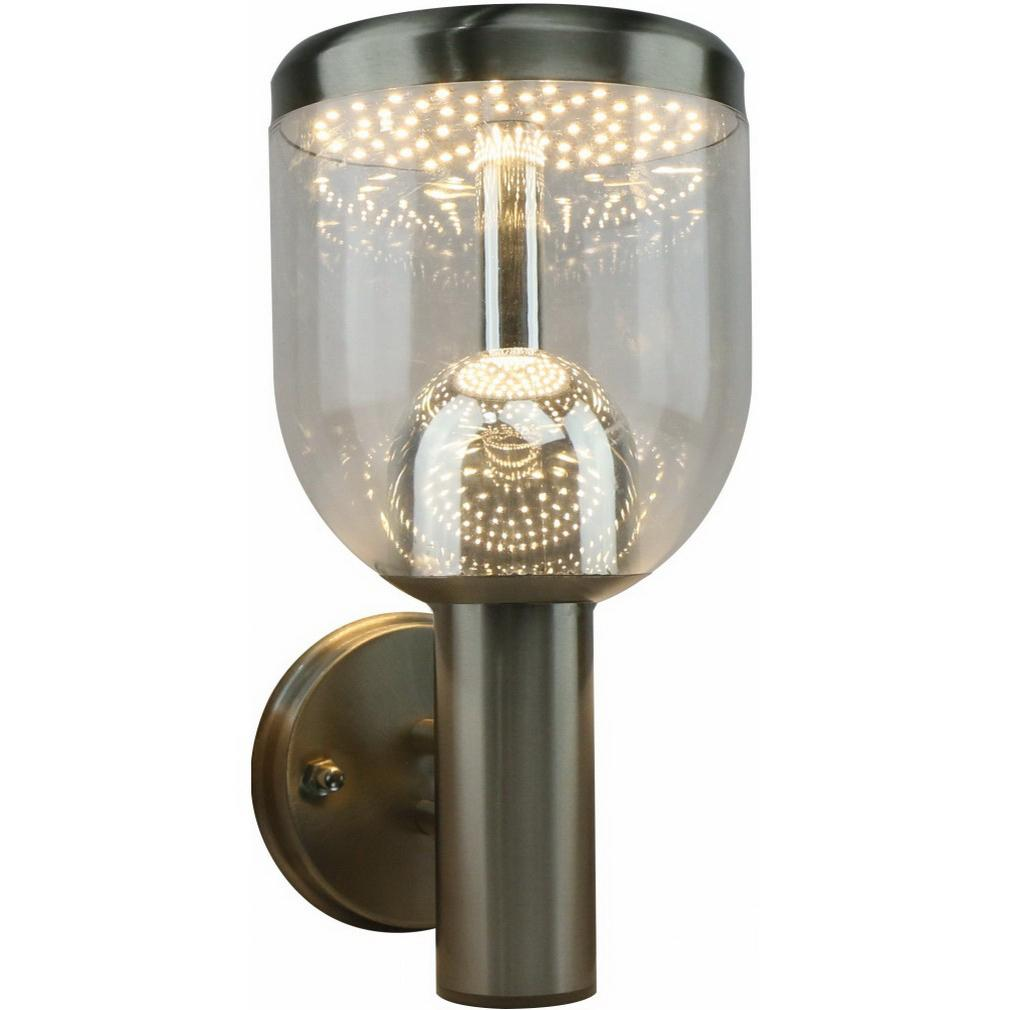 Светильник уличный Arte lamp A8163al-1ss arte lamp настенный уличный светильник arte lamp inchino a8163al 1ss