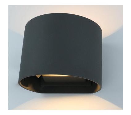 Светильник настенный ARTE LAMP A1415AL-1GY