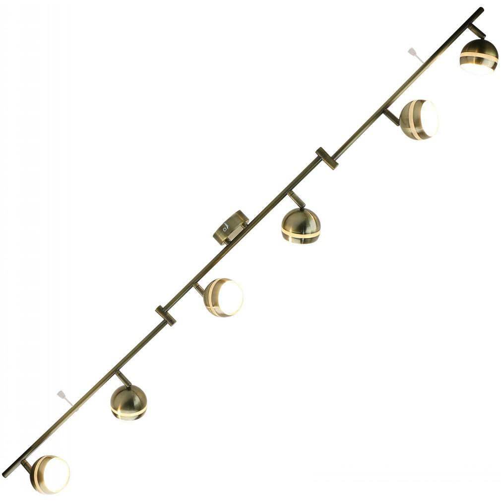 Светильник потолочный Arte lamp A6009pl-6ab люстра потолочная ��оллекция zanzibar a8392lm 6ab бронза arte lamp арте ламп
