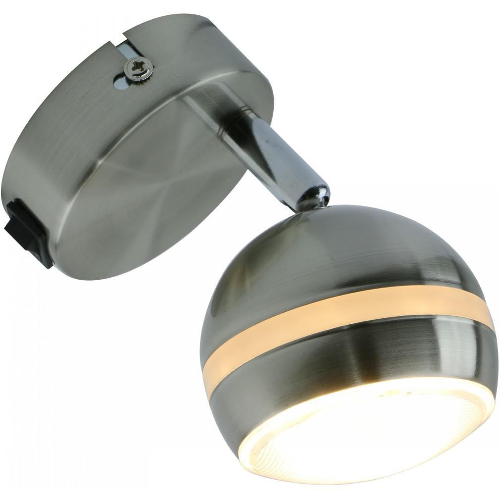 Светильник настенный Arte lamp A6009ap-1ss торшер 43 a2054pn 1ss arte lamp 1176958