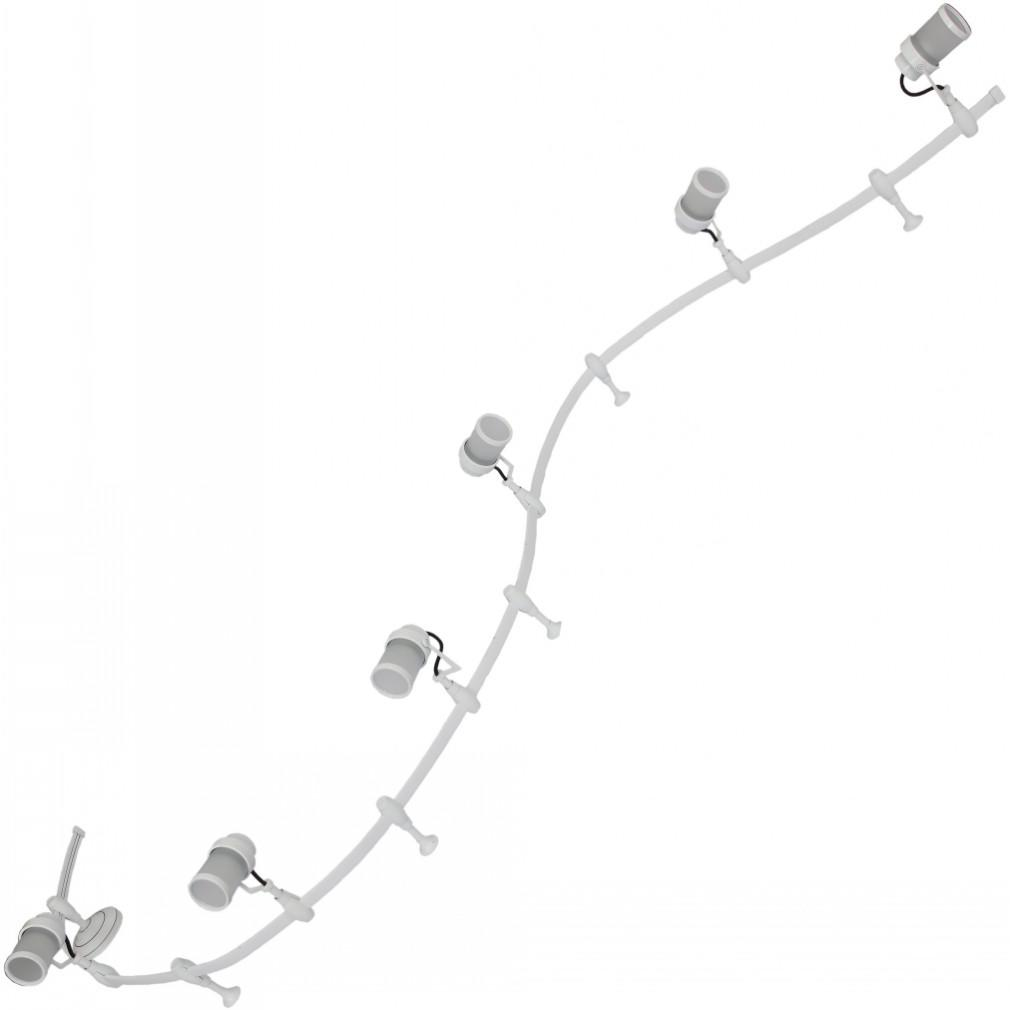 Светильник потолочный Arte lamp A3056pl-6wh светильник подвесной arte lamp passero 6 х e27 40 w a4289lm 6wh