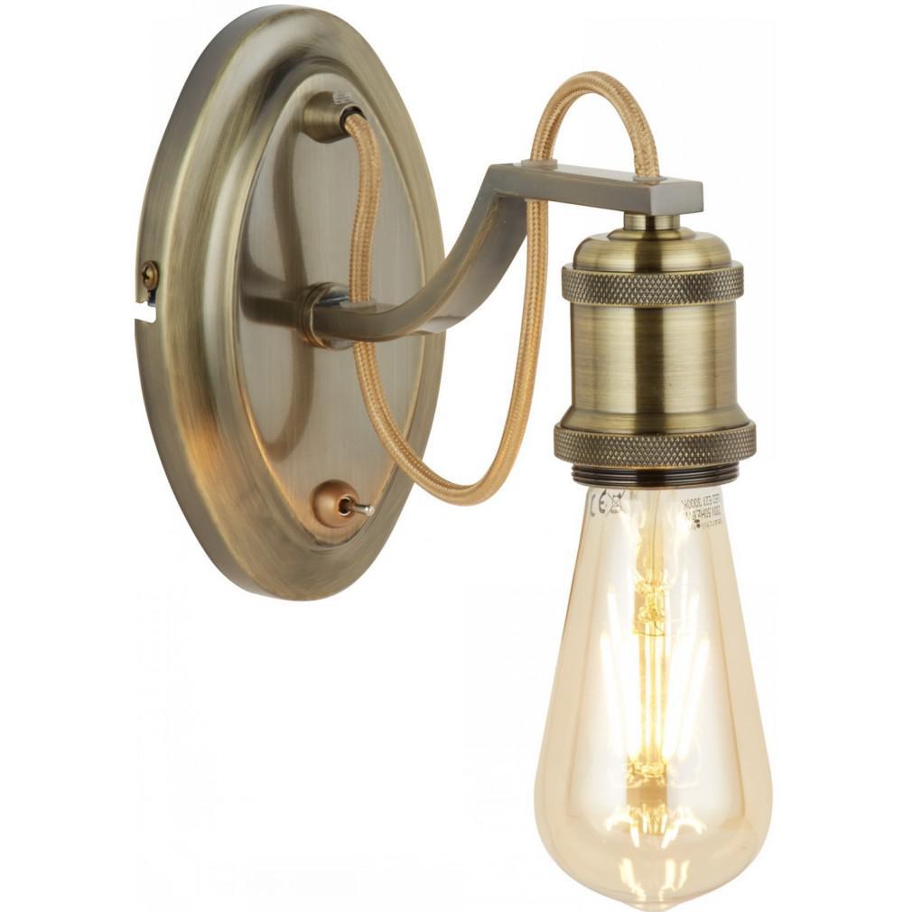 Светильник настенный Arte lamp A2985ap-1ab настенный светильник arte lamp interior a7107ap 1ab