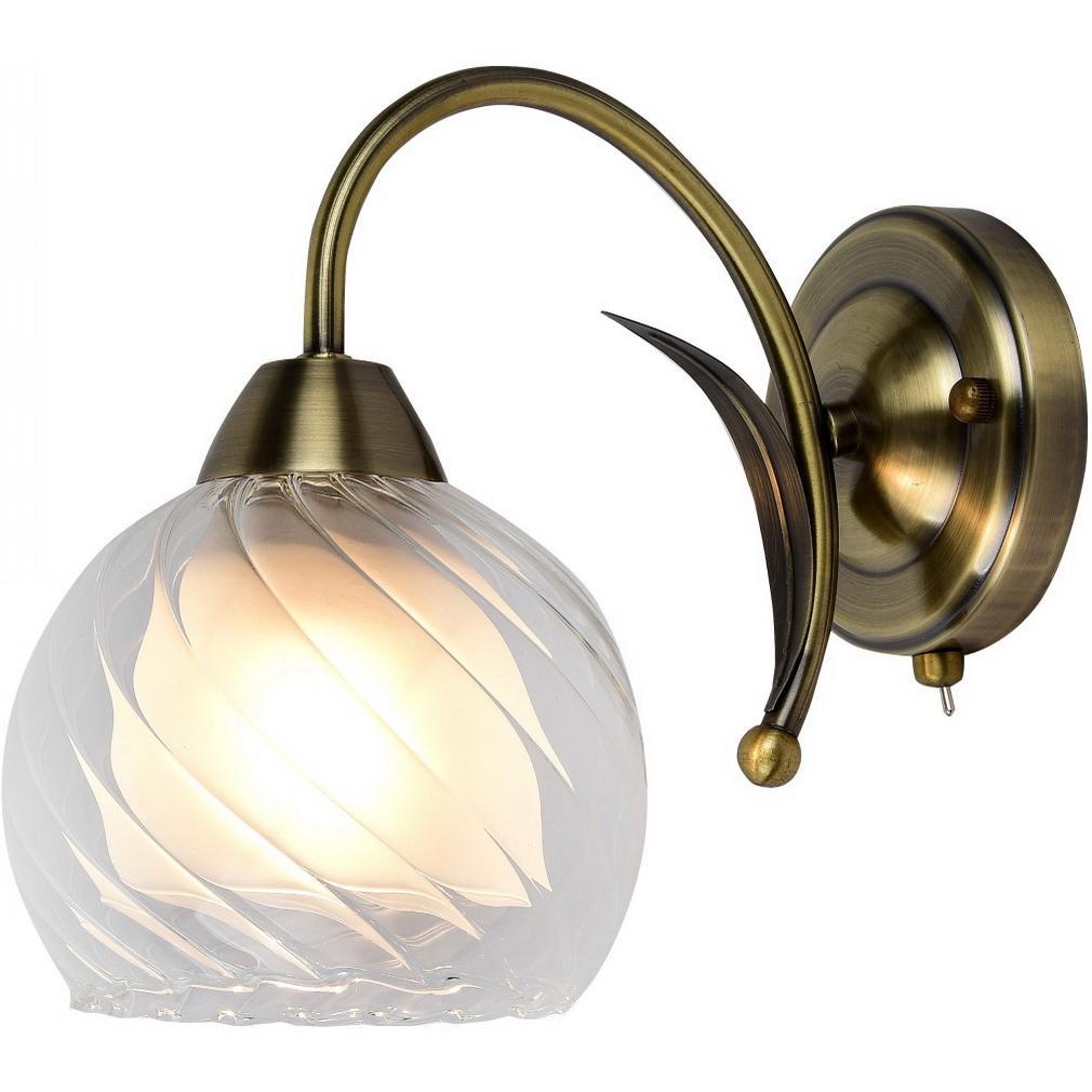 Светильник настенный Arte lamp A1607ap-1ab настенный светильник arte lamp interior a7107ap 1ab