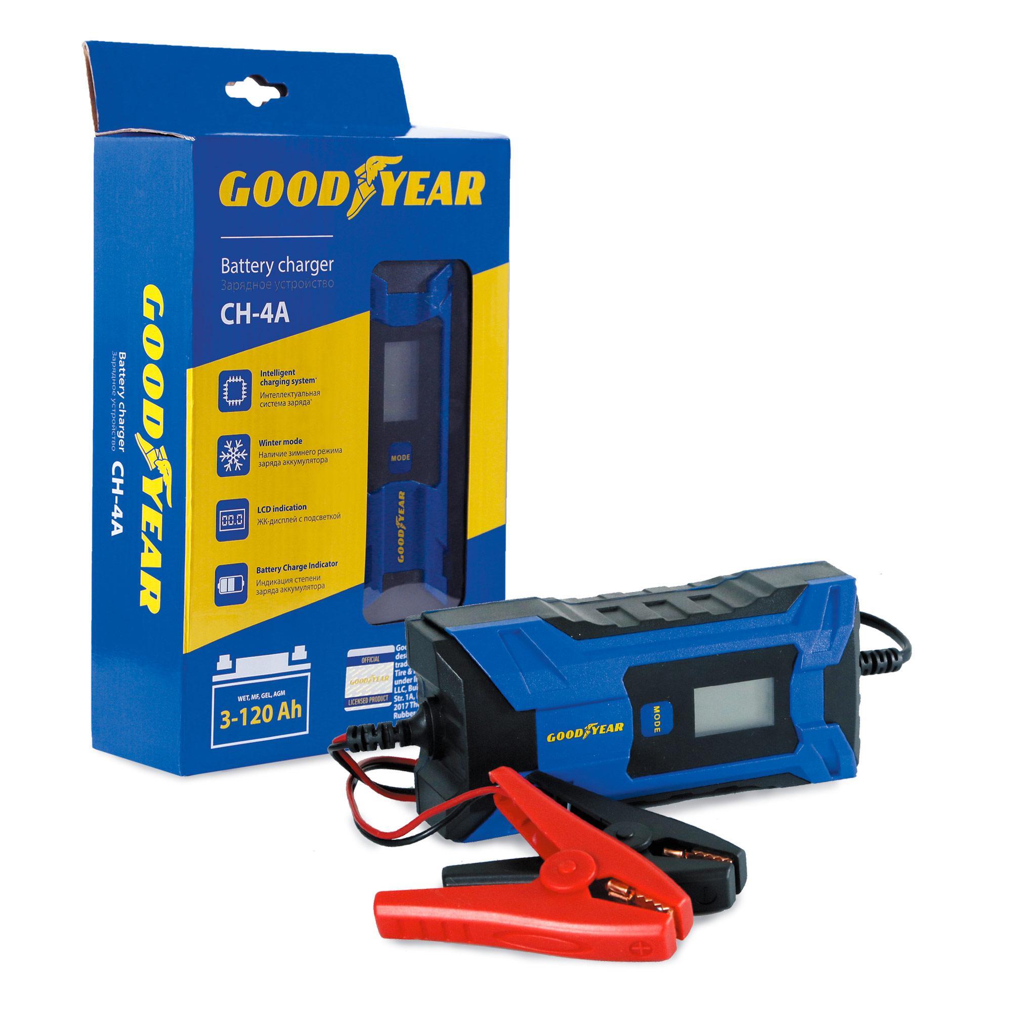 Зарядное устройство Goodyear Gy003001 зарядное устройство 6 вольт для аккумулятора в томске