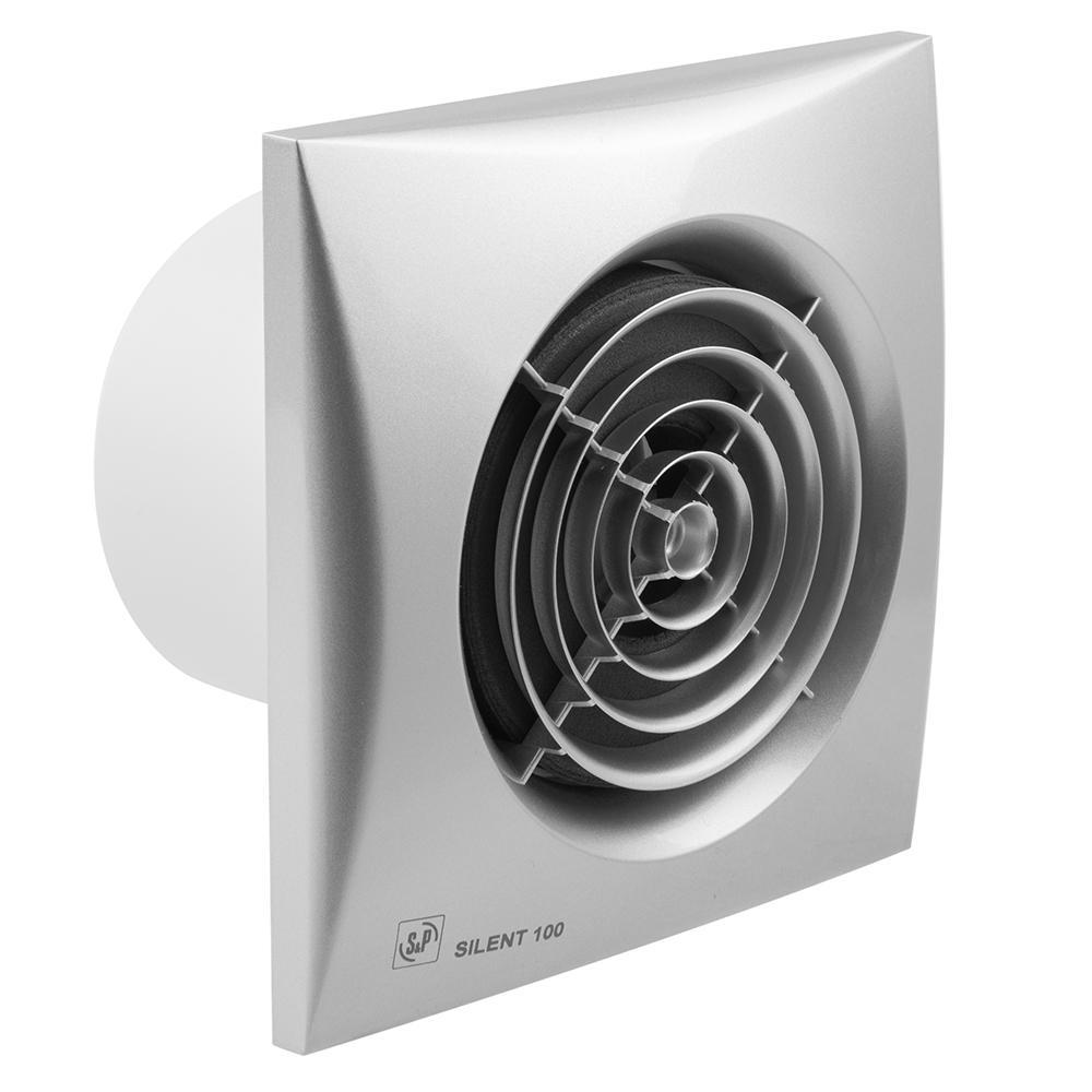 Вентилятор Soler&palau Silent-100 crz silver цена