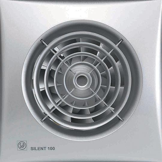 Вентилятор Soler&palau Silent-100 chz silver