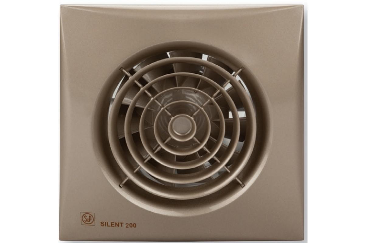 Вентилятор Soler&palau Silent-200 cz champagne palau кухня palau baby glo 89 см арт 20005