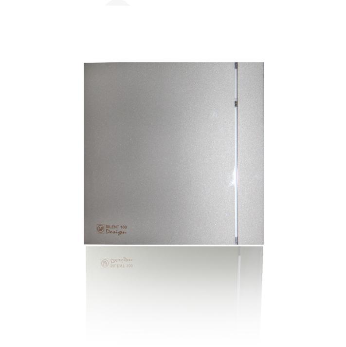 Вентилятор Soler&palau Silent-100 crz silver design crz