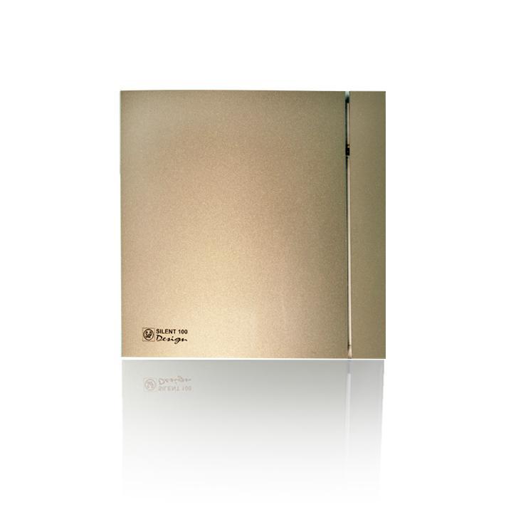 Вентилятор Soler&palau Silent-100 cz champagne design 4С