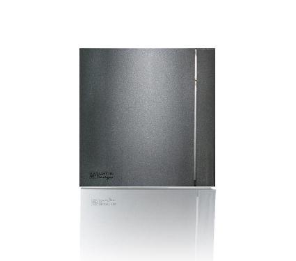 Вентилятор SOLER&PALAU Silent-100 CZ Grey Design 4С