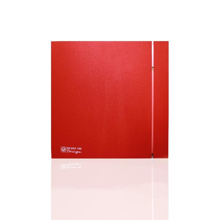 Вентилятор Soler&palau Silent-100 cz red design 4С