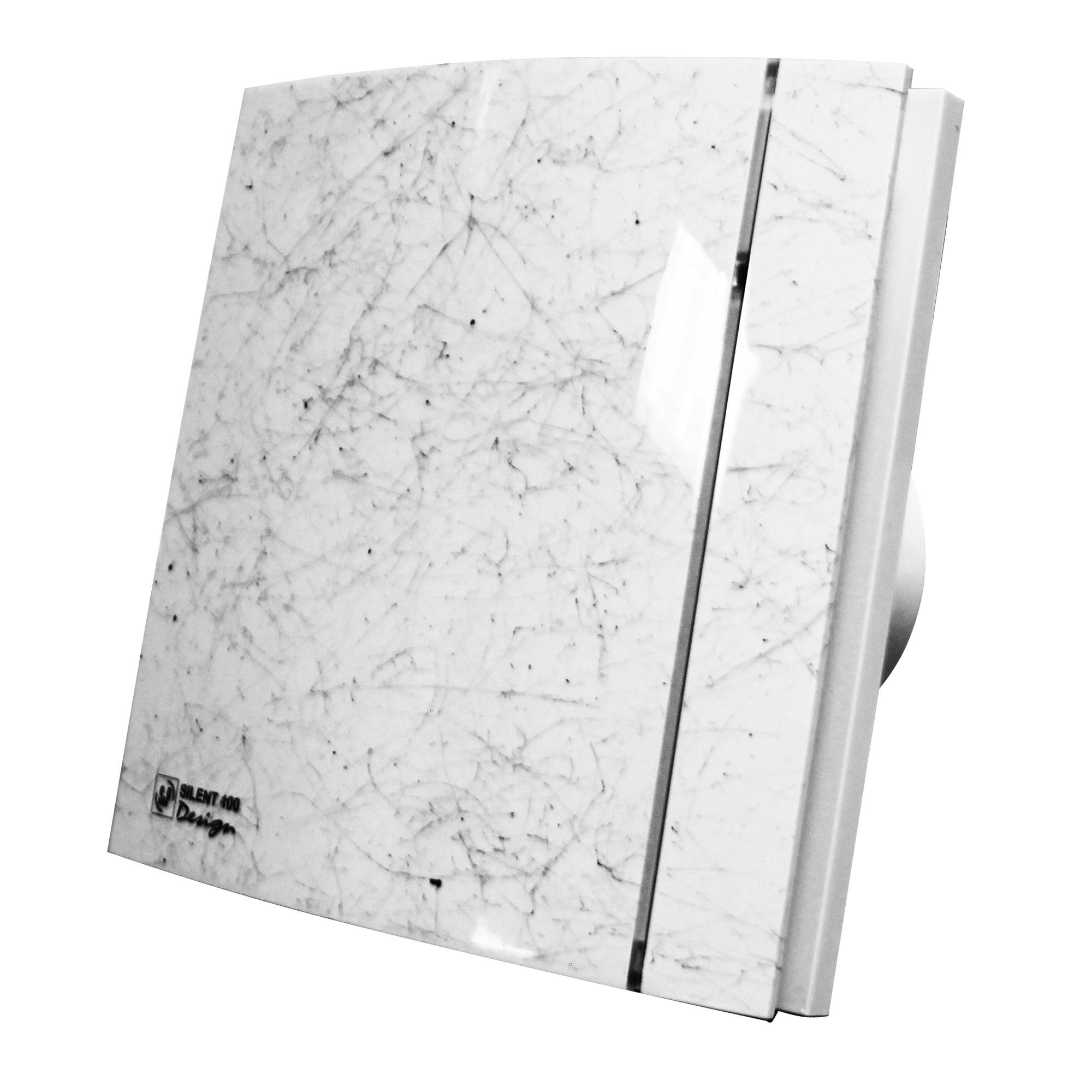 Вентилятор Soler&palau Silent-100 cz marble white design-4c