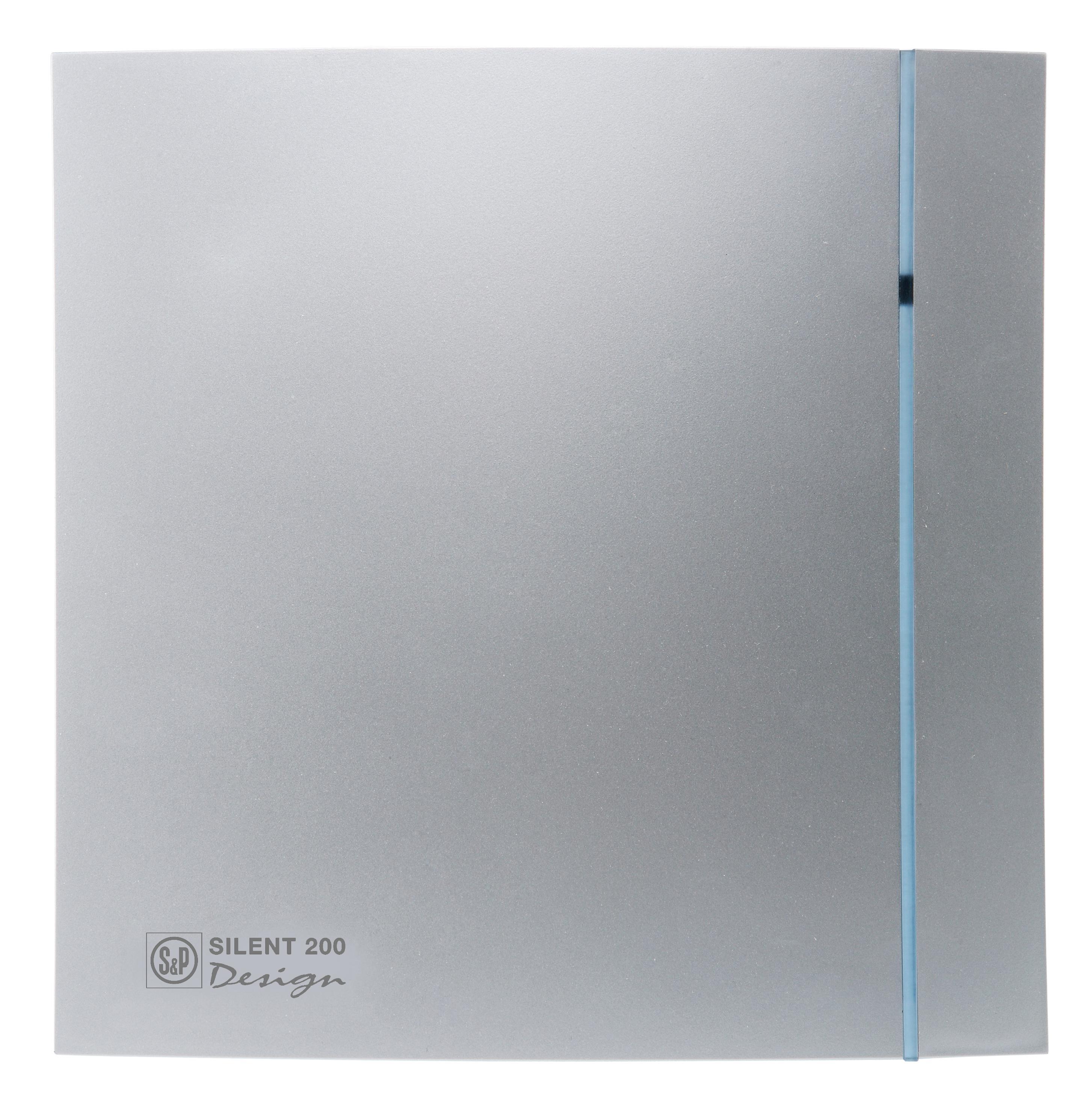 Купить со скидкой Вентилятор Soler&palau Silent-200 cz silver design-3c