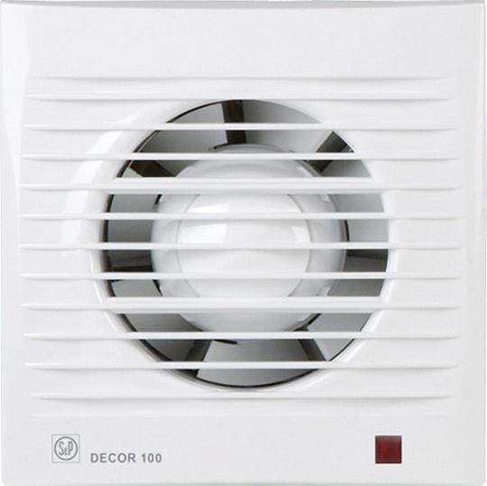 Вытяжной вентилятор Soler&palau Decor 100c