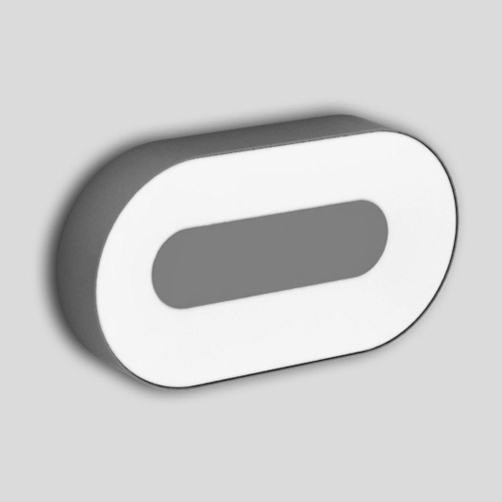 Светильник уличный Lutec 3491l leflash датчик движения ик настенный 120° потолочный 360° белый