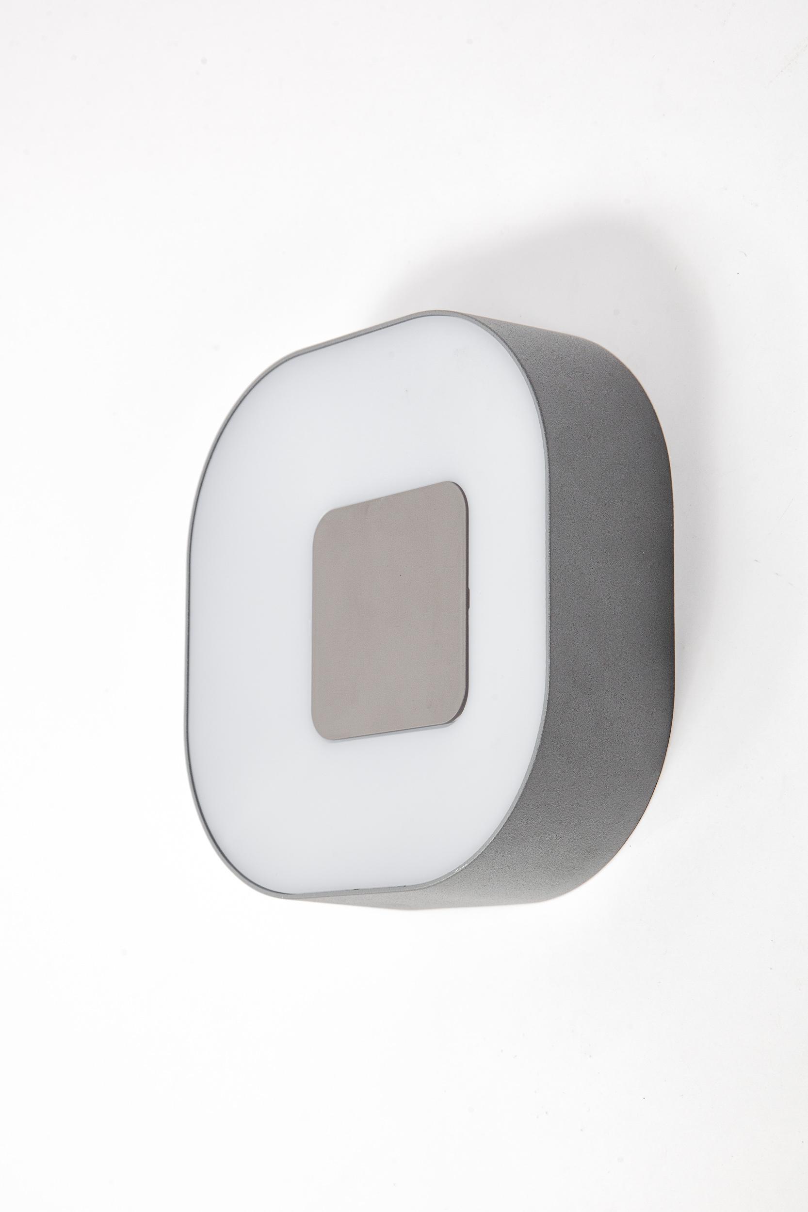 Светильник уличный Lutec 3501s leflash датчик движения ик настенный 120° потолочный 360° белый